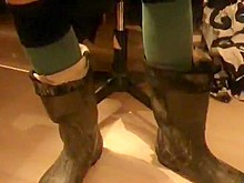 nlboots - socks, balzer boots turned up and down