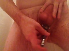 Shaving my dick and balls