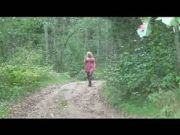 Piss: Milf Pissing In Forest