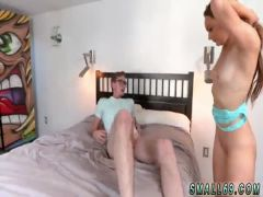 Skinny brunette amateur fucked Orange You Glad Im So