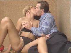 Vintage movie with hot classic ladies getting pounded