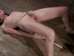 Coral Aorta has Her butt tunnel filled around Sleaze Wax in sadism performance