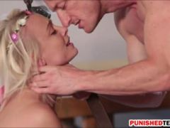 Blondie Maddy Rose gets her pussy rammed by horny dude