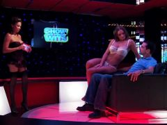 Busty babes hot lapdancing