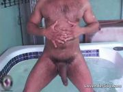 Malik and his big cock in the spa