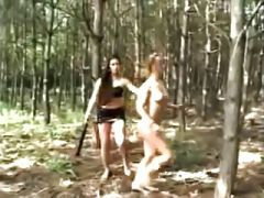 Spanked In The Woods!!!!!!