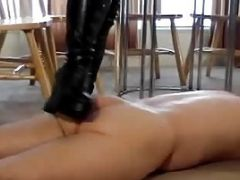 Sexy Plus Size Mature Femdom Gets Her Slave