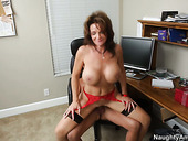 Horny milf Deauxma wants to get her fancy poked doggy