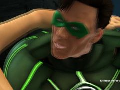 Green lantern shows what he is really known for