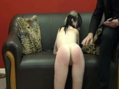 Spanked hotty