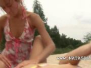 Natashas beach fron games in hd film 4