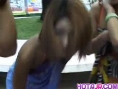 Mai Sakurai and babes are touched at ###l