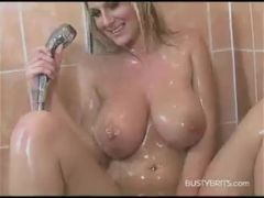 Demi Scott in shower