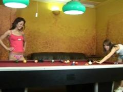 Lesbos onto the snooker table