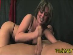 Her snatch gets pounded