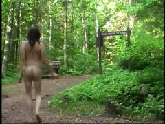 Nude hiking at little manitou falls