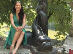 Public sadism xxx nearby Sensuous ebony haired