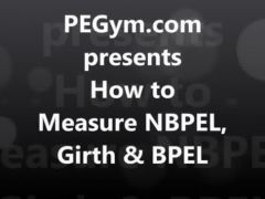 How To Measure NBPEL Girth and BPEL