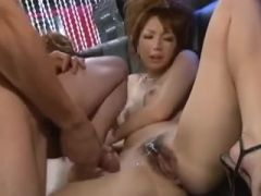 Japanese sex club party