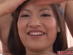 Look at this Asian girl got fucked with a sextoy in her