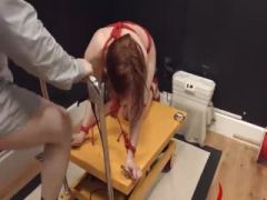 Extreme violently copulated bdsm babe