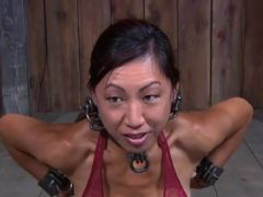 Strong cumload torture for beauty