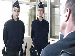 Girl In Uniform And Her Superior