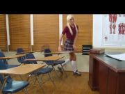 Naughty Schoolgirl Maia Bonked By The Coach