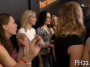 Very hot group sex in club movie 2