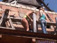 Mexican teen pov blowjob Kate & Tanya in the sun