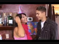 Gift of Virgin Difloration on 18 Birthday of young teen Brunette